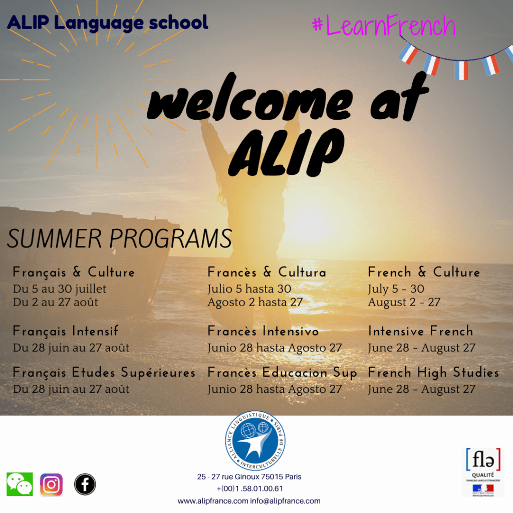 french courses alip